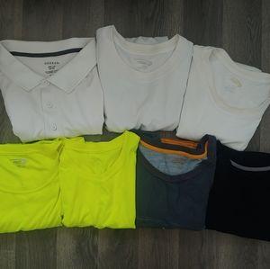 Mixed Lot Polo Athletic Shirts